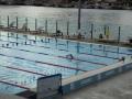 Sun loungers at Andrew Boy Charlton Pool in Woolloomooloo