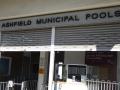 Entrance to Ashfield Swimming Pool