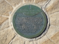Evelyn Whillier plaque near Bronte Rock Pool