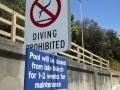 Sign for Clovelly Ocean Pool