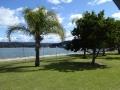 Brisbane Water behind Gosford Olympic Pool