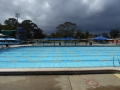 Olympic pool at Lambton Swimming Centre in Newcastle western suburbs