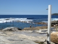 Shower by the pool at Mahon Pool at Maroubra