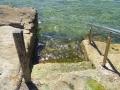 Steps into Mahon Pool at Maroubra