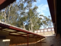 Roofless toilets at Manly swimming centre