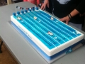 Oak Flats Pool 50th birthday cake