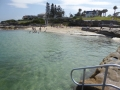 By the beach at Oak Park Rock Pool