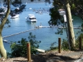 Paradise Beach on the Pittwater side of Avalon