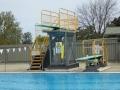 Diving at Parkes Aquatic Centre