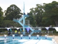 Diving board at the Parramatta War Memorial Swimming Centre