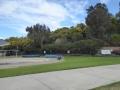 Water slides at Parramatta War Memorial Swimming Centre