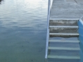 Shallow end steps at Queenscliff Rock Pool