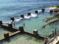 Ross Jones Memorial Pool in Coogee from the SLSC at South Coogee