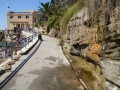 Path from shower to pool at Ross Jones Memorial Pool in Coogee