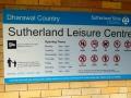Entrance to Sutherland Aquatic Centre