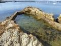 Eden's original rock pool in Snug Cove