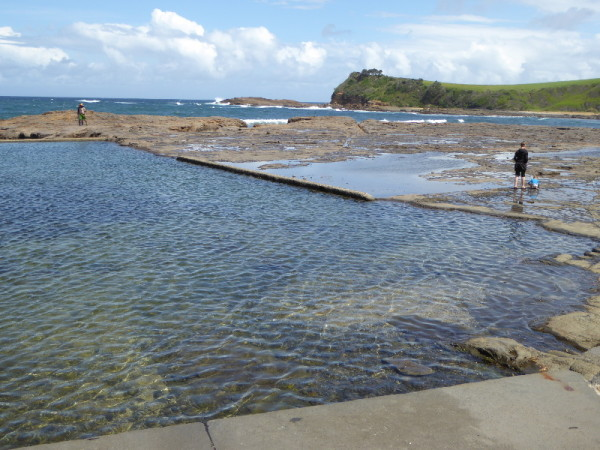 Gerringong Boat Harbour Rock Pool
