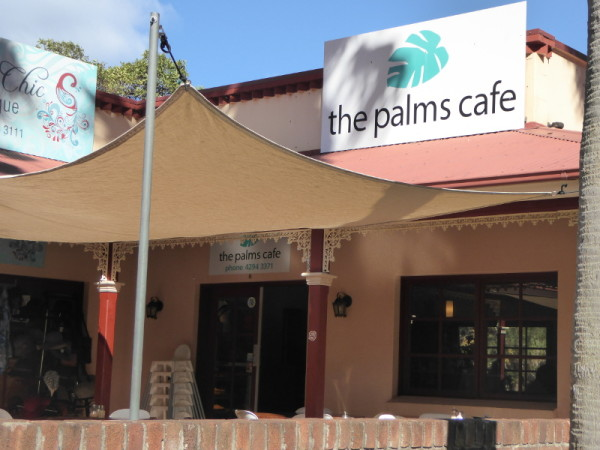 Palms Café in Stanwell Park