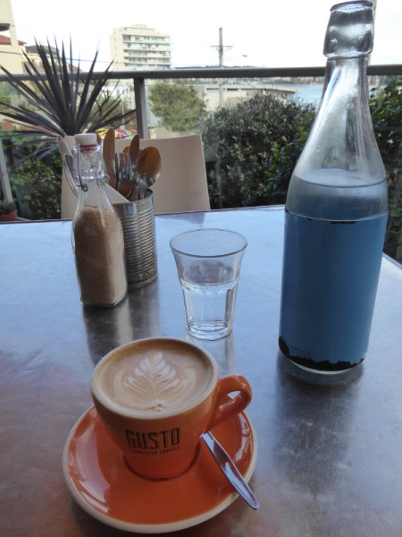 Splat coffee in Queenscliff