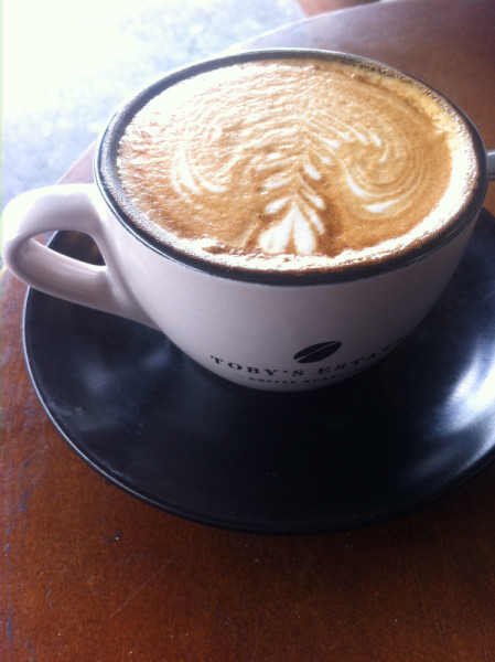 Coffee at Toby's Estate