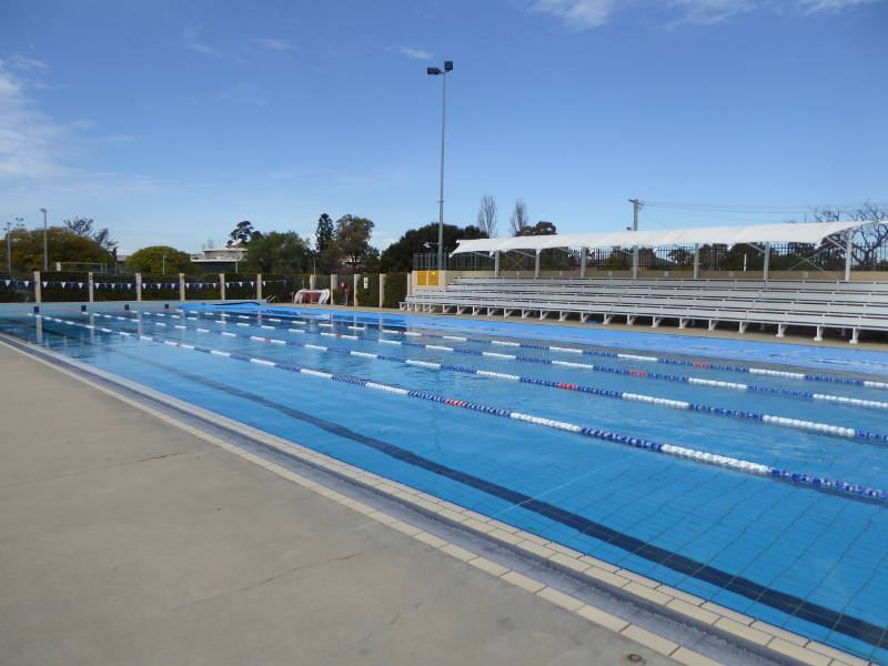 Olympic Pool At Granville Swimming Centre