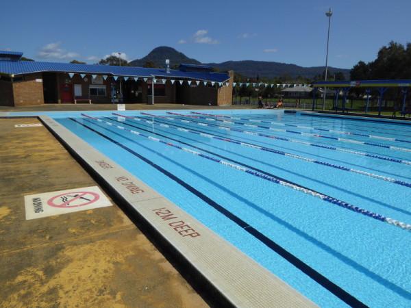 Western Suburbs Pool in Unanderra