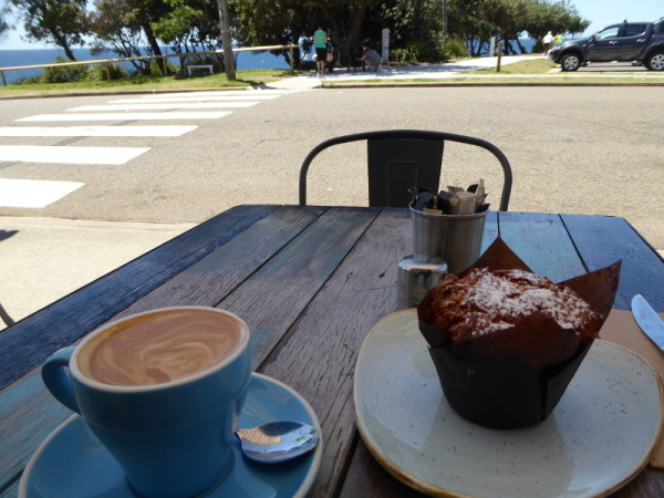 Good coffee near Mahon Pool, Maroubra