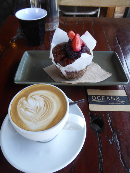 Oceans for coffee in North Narrabeen