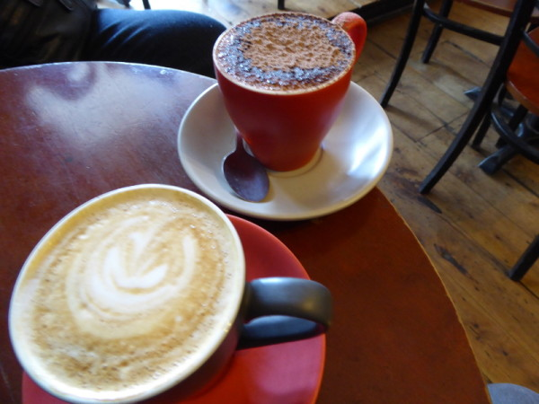 Coffee in Katoomba at The Elephant Bean