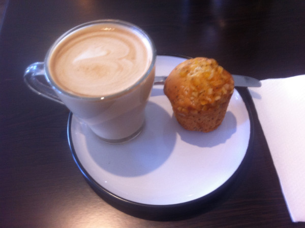 White Gum Cafe for coffee in South Windsor