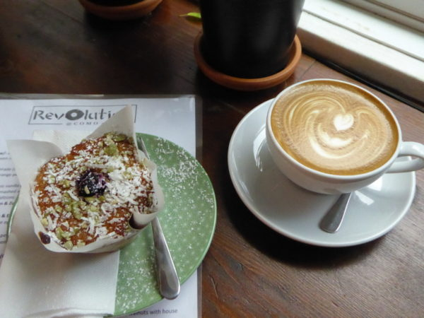 Coffee in Como at Revolution