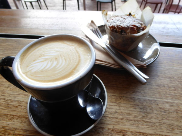 Tartt coffee in Forster