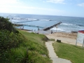 Path down to Bulli Rock Pool