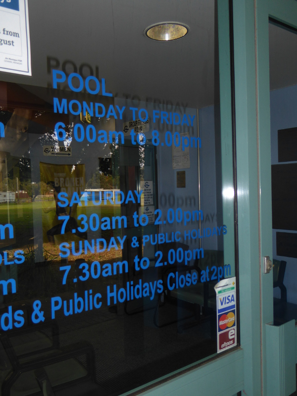 Canterbury aquatic centre nsw 2193 Canterbury swimming pool opening hours