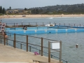 Dee Why Beach behind the rock pool