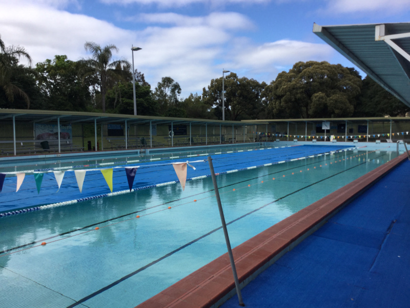 dick caine olympic pool carss park nsw 2221