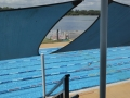 Looking down on Drummoyne Olympic Pool