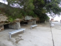 Benches by the pool at Fairlight