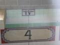 The original tiles at Granville Swimming Centre