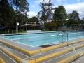 Outdoor pool at Guildford Swimming Centre