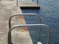 Getting in the water at Kiama Olympic Pool