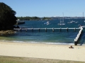 Swimming enclosure at Little Manly Baths