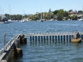 Harbour Bridge views from Lucretia Baths in Woodford Bay