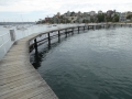 The boardwalk at Murray Rose Pool in Double Bay