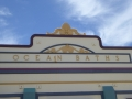Art deco facade of Newcastle Ocean Baths