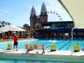Luna park behind North Sydney Olympic Pool