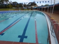Lovely curves at Roselands Aquatic Centre