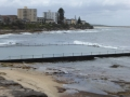 Looking north from Shelly Beach Rock Pool in Cronulla
