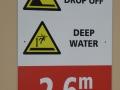 Depth of Thirroul Olympic Pool