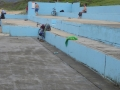 Viewing area at Towradgi Rock Pool
